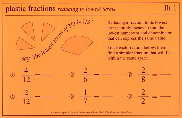 MSC flt Fractions reduce