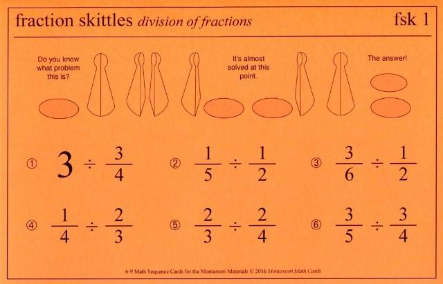 MSC fsk1 Fractions division