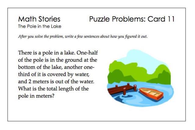 SP Puzzle Problems 11