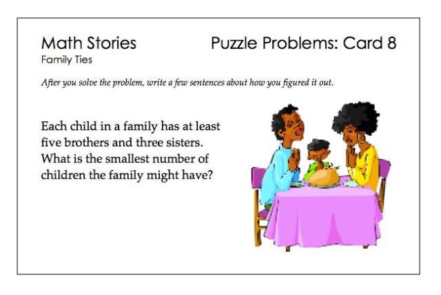 SP Puzzle Problems 8