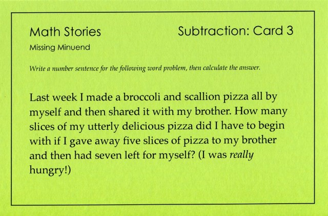 SP Subtraction 3