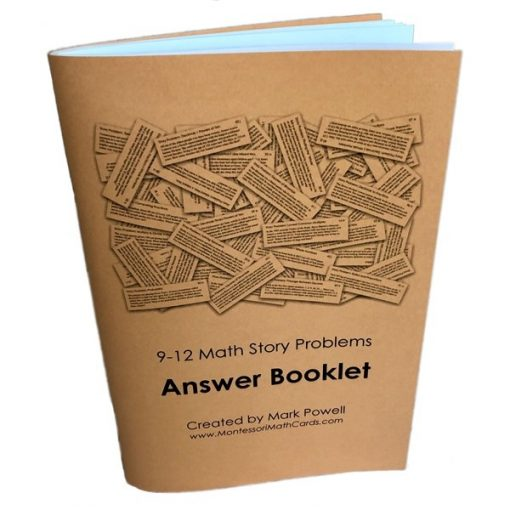 9-12 Story Problems Answer Booklet